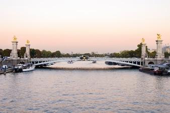 Ponte Alexander III em Paris