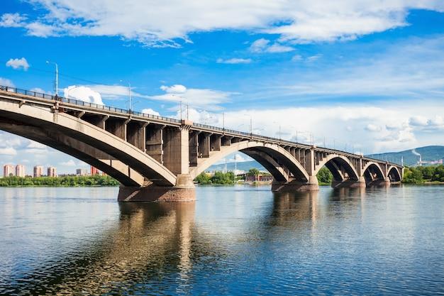 Ponte comum em krasnoyarsk