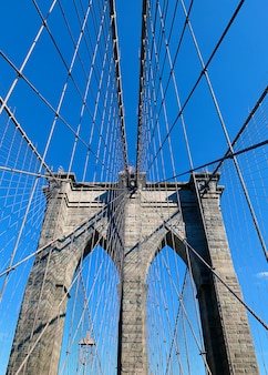 Ponte de brooklyn em new york city