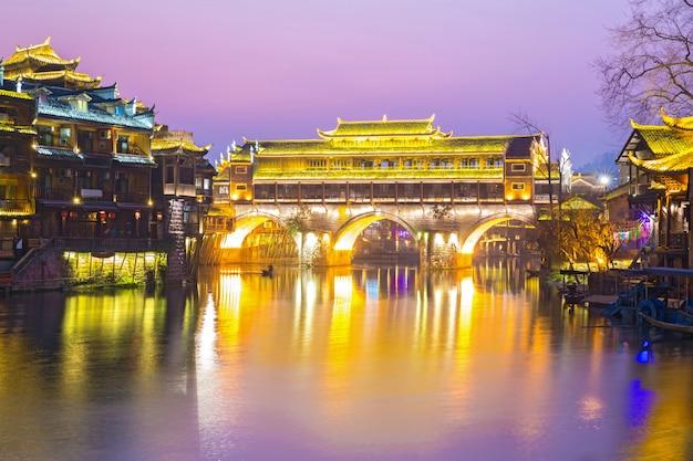 Ponte de hongqiao fenghuang china