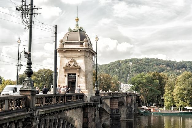 Ponte de legion (czech: a maioria de legi). praga, república tcheca