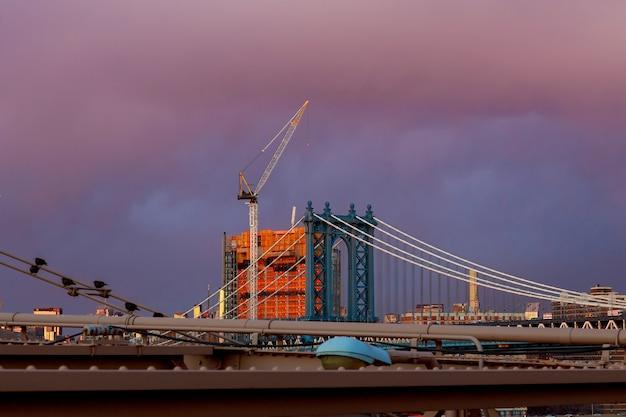 Ponte de manhattan new york ny nyc de brooklyn eua