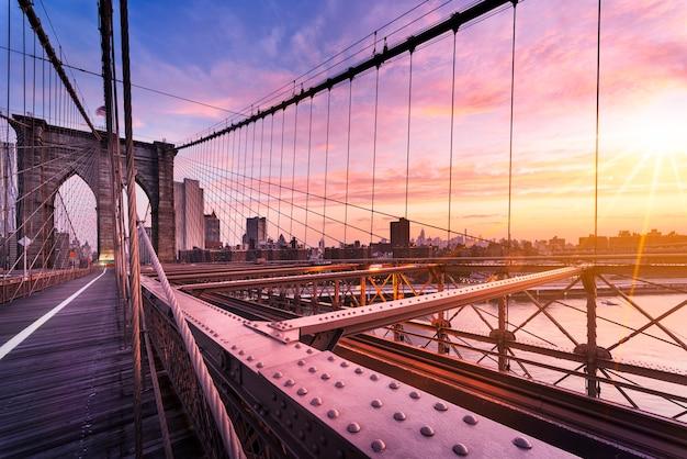 Ponte do brooklyn, em nova york
