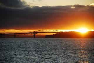 Ponte do porto de auckland