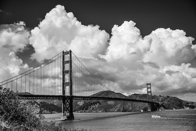 Ponte golden gate em san francisco, califórnia, eua