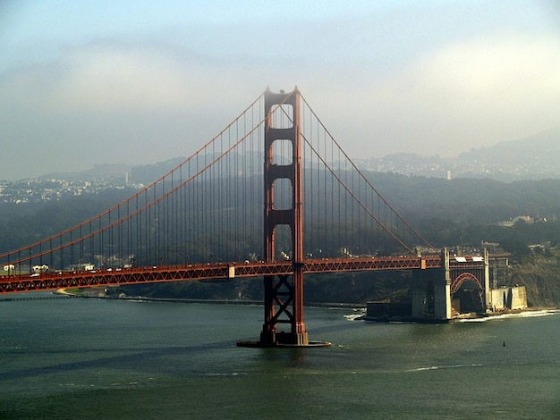 Ponte portão de ouro califórnia em san francisco eua