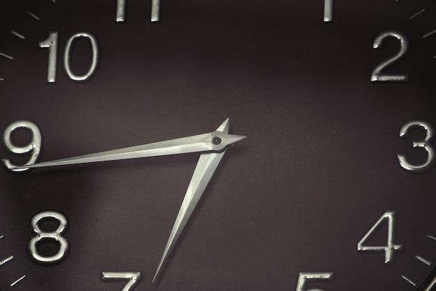 Ponteiros do relógio de parede