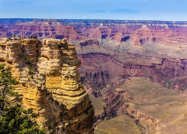 Ponto da mãe do parque do arizona grand canyon e anfiteatro