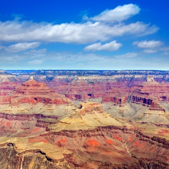 Ponto do yavapai do arizona national park do grand canyon