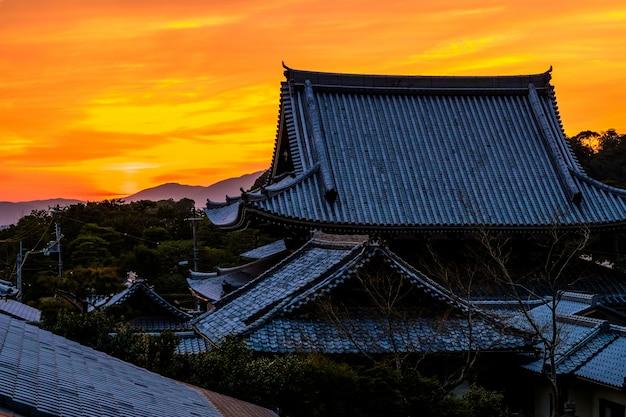 Pôr do sol japonês