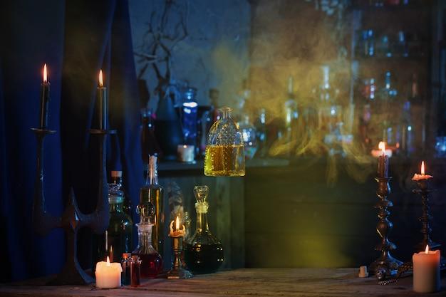 Porção mágica em linda garrafa de vidro