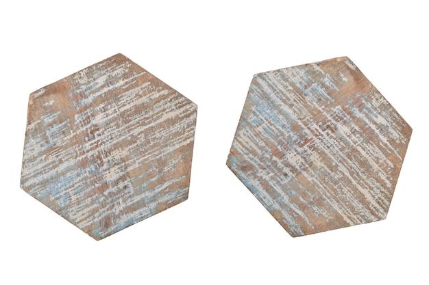 Porta-copos isolados na superfície branca