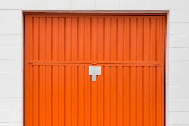Porta da garagem