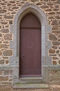 Porta da igreja hdr arquitetura