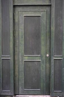Porta danificada