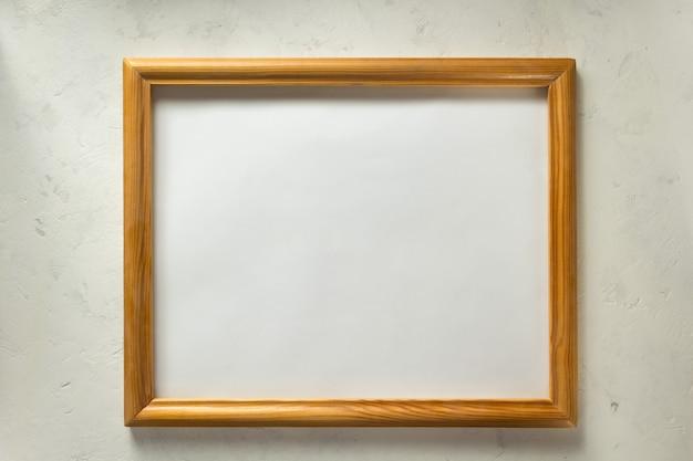 Porta-retrato de foto no fundo da parede