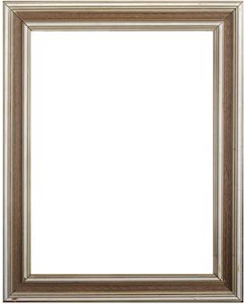 Porta-retrato e fundo branco