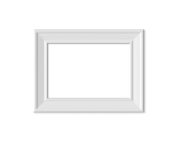 Porta-retrato horizontal landacape 2x3 a4. 3d render.