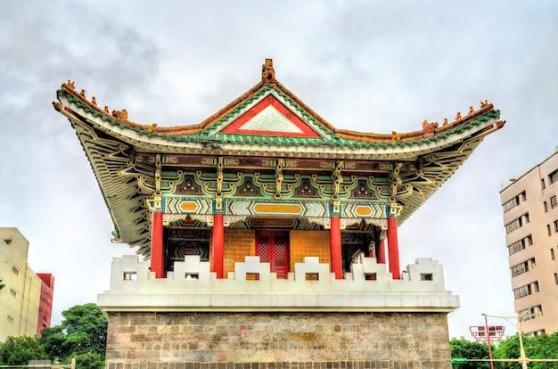 Portão auxiliar sul da antiga cidade de taipei