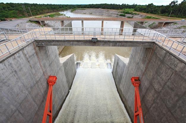 Portão da barragem