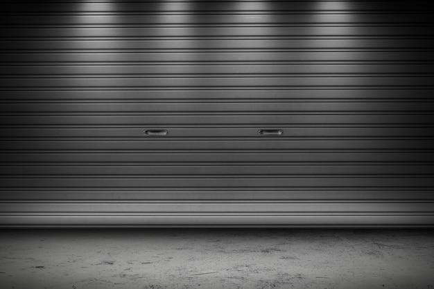 Portão de armazenamento da garagem ou da fábrica