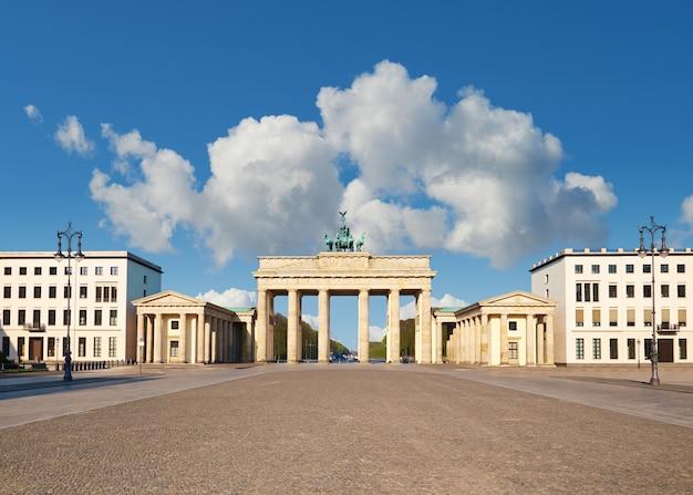 Portão de brandemburgo, em berlim, alemanha