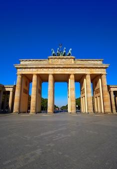 Portão de brandemburgo em berlim brandenburger tor