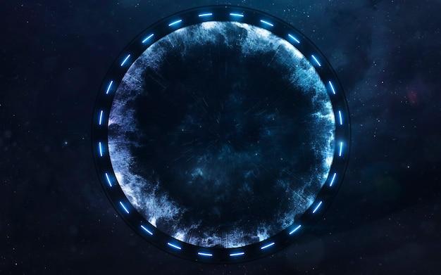 Portão estelar no espaço