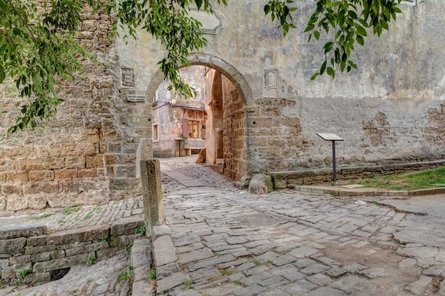 Portão principal da cidade, groznjan