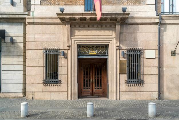 Portas e janelas de construção de estilo europeu shanghai bund