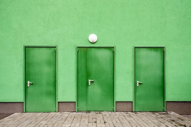 Portas verdes