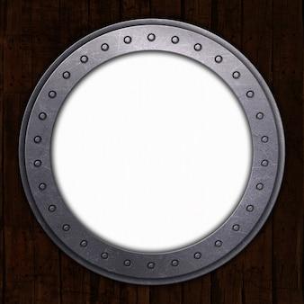 Porto hole com espaço em branco