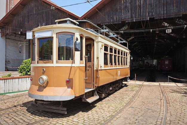 Porto, portugal - julho 02: museu do carro electrico (tram museum) em 02 de julho de 2014 no porto, portugal
