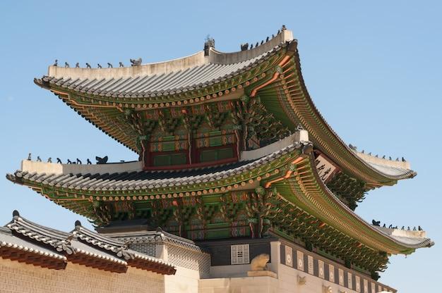Portões do palácio gyeongbokgung