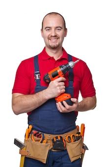 Portrair handyman