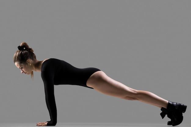 Pose de ioga de prancha