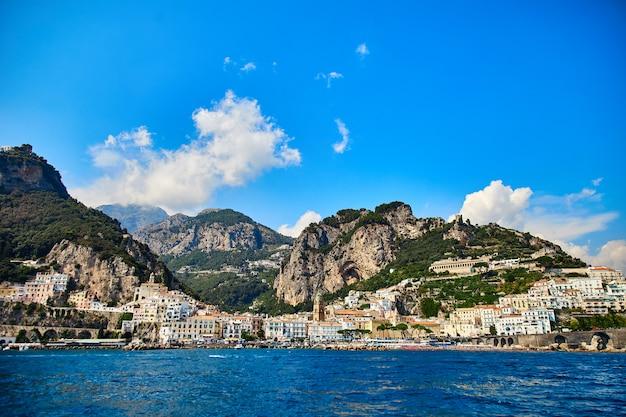 Positano, costa amalfitana, campania, itália.