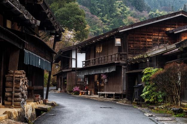 Post cidade de tsumago, vale de kiso