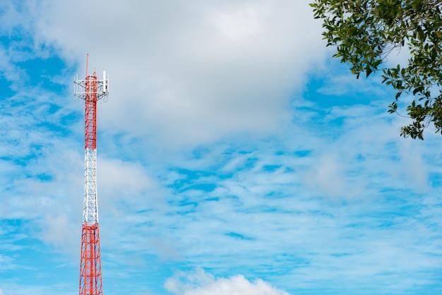 Poste de sinal da antena