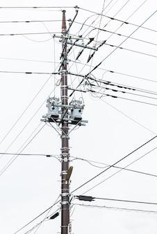 Posto de eletricidade no japão