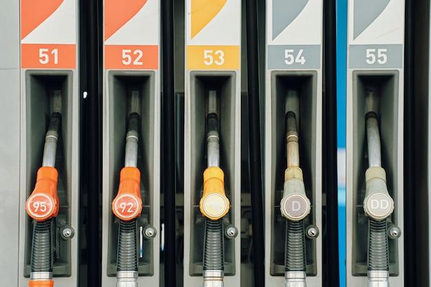 Posto de gasolina, distribuição