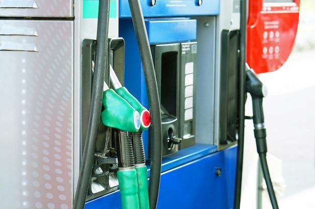 Posto de gasolina.