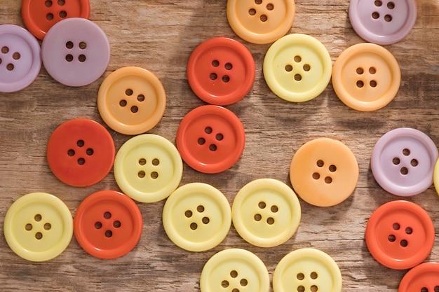 Postura plana de botões
