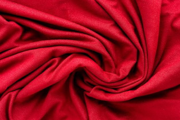 Postura plana de têxtil