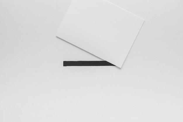 Postura plana do conceito de eleições com espaço de cópia