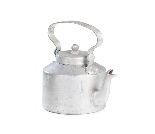 Pote de chá de prata tradicional indiana desi
