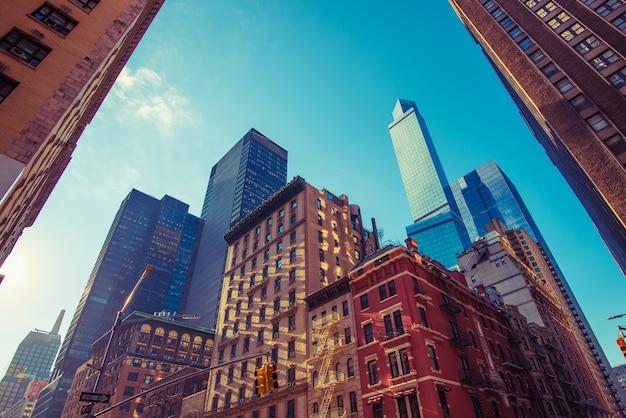Praça da cidade de nova york