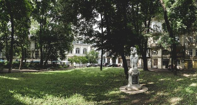 Praça da cidade palais royal em odessa, ucrânia
