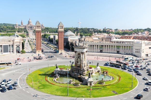 Praça espana barcelona