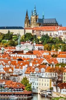 Praga, mala strana e castelo de praga